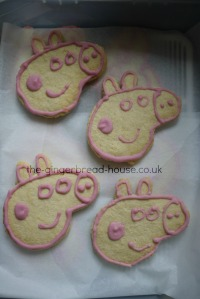 Peppa Pig biscuits