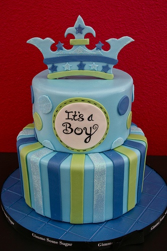 It's a Boy Cake