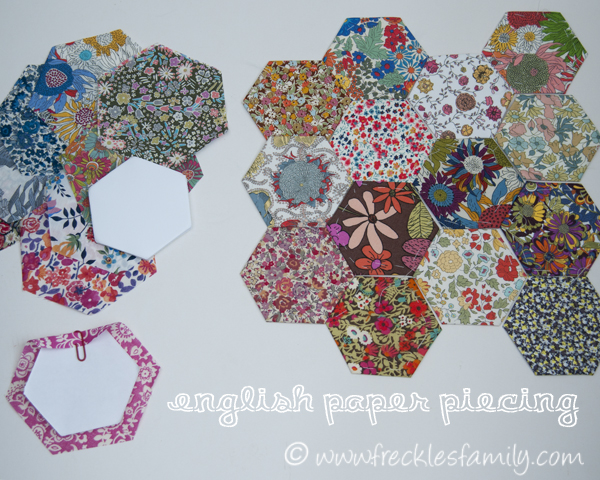 english paper piecing history English paper piecing is often used in the making of hexagon, diamond, baby-block, and star patterns each piece in the quilt is pinned to its own paper pattern piece.