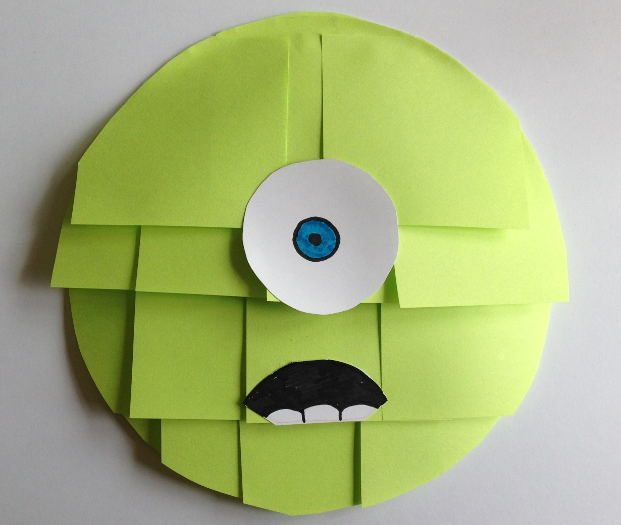 Sticky paper for crafts - Monsters Inc Sticky Notes