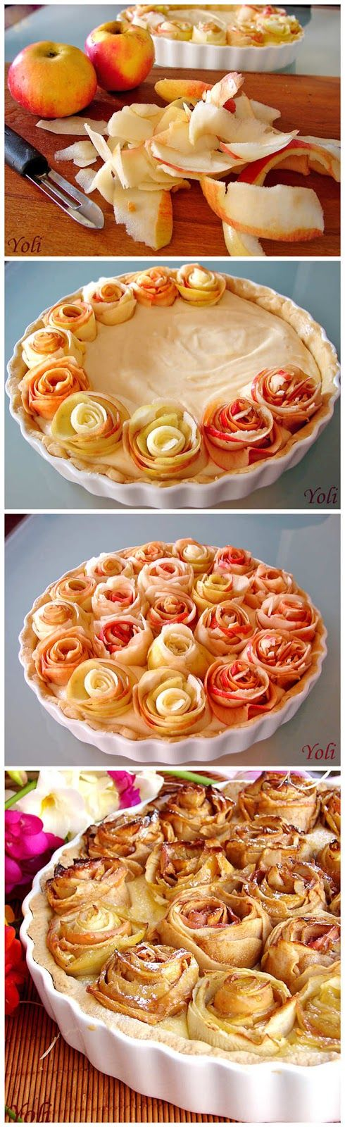 Apple Pie Rosettes