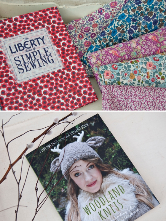 Liberty Book of Simple Sewing, Woodland Knits
